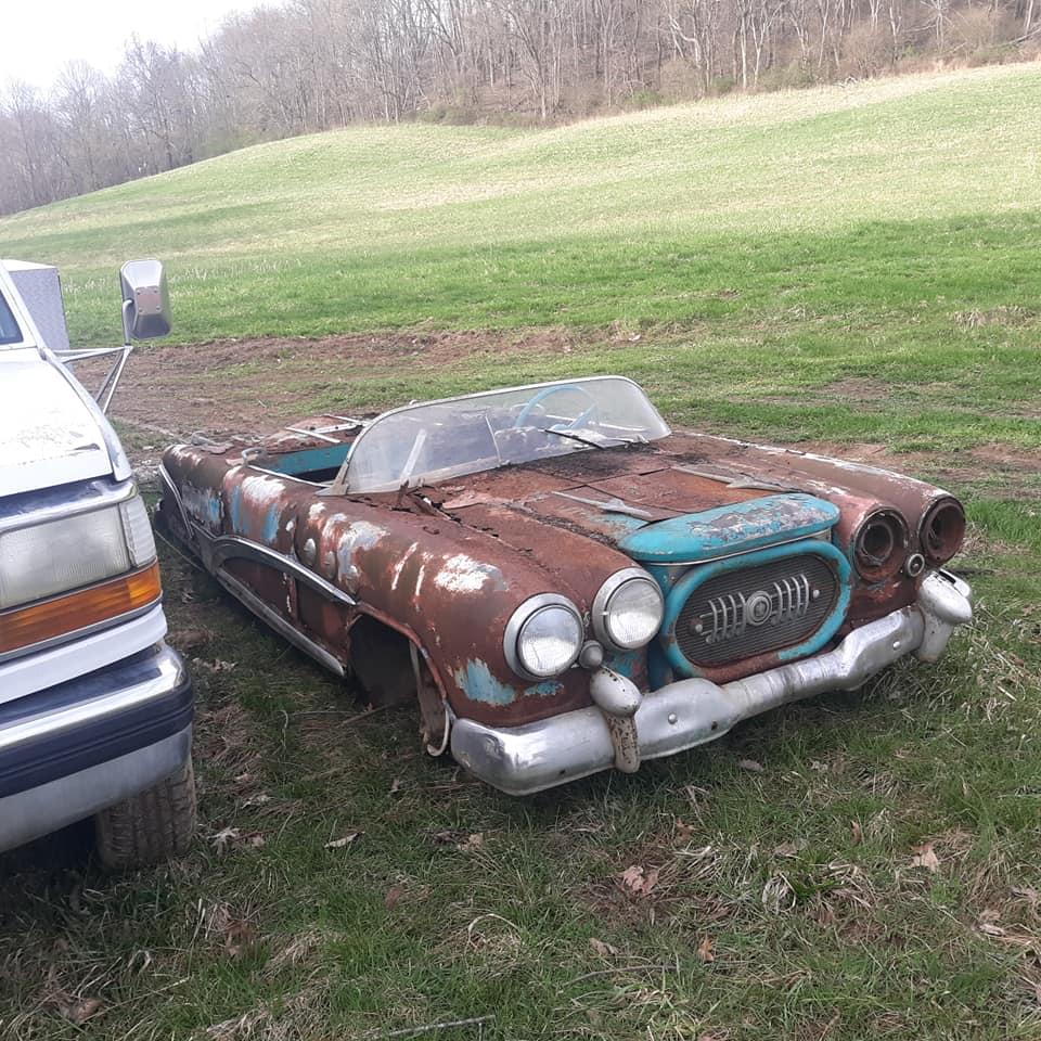 Sauvetage d'un Custom des années 50 - Custom car Survivor rescue 57246910