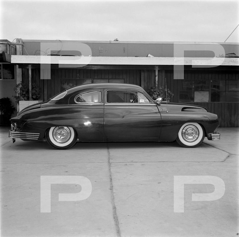 1950 Mercury - Blue Mirage - Sonny Morris built by Joe Bailon 57298310