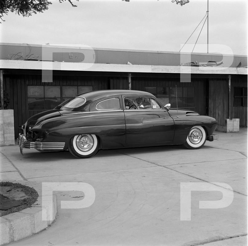1950 Mercury - Blue Mirage - Sonny Morris built by Joe Bailon 57298410