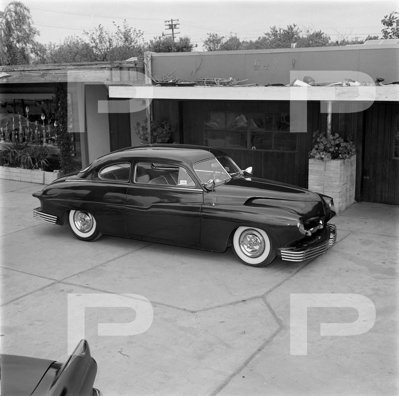 1950 Mercury - Blue Mirage - Sonny Morris built by Joe Bailon 57298510