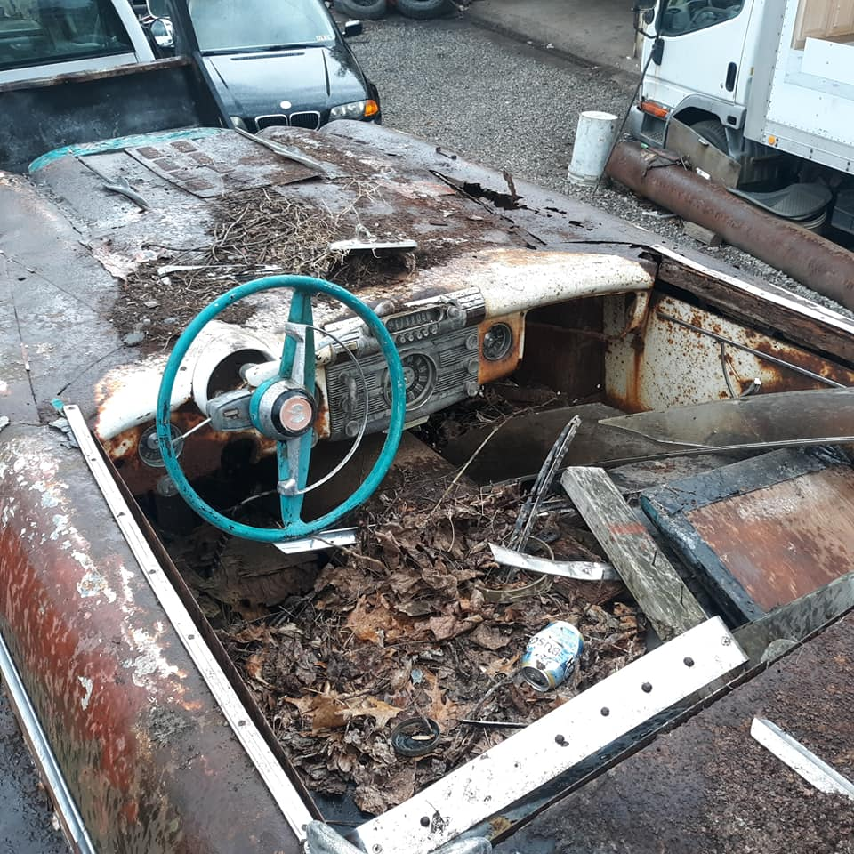 Sauvetage d'un Custom des années 50 - Custom car Survivor rescue 57373110