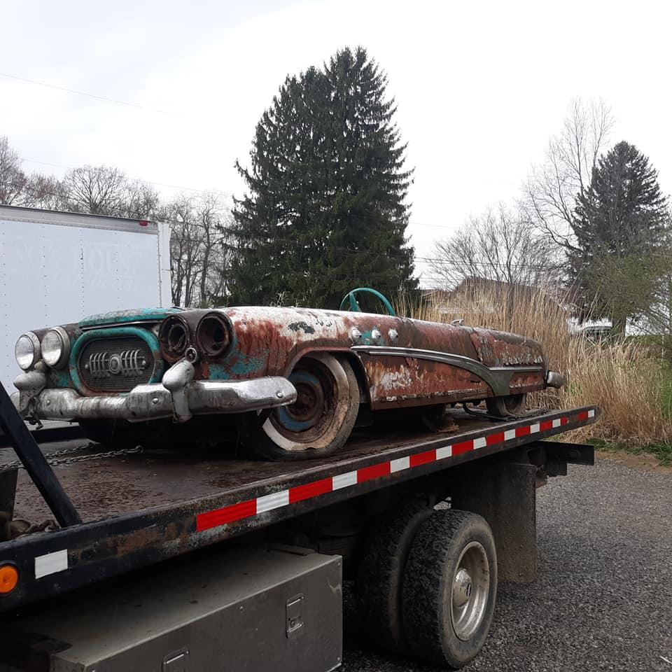 Sauvetage d'un Custom des années 50 - Custom car Survivor rescue 57374510