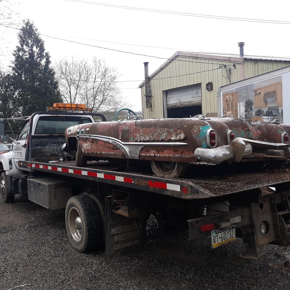 Sauvetage d'un Custom des années 50 - Custom car Survivor rescue 57393010