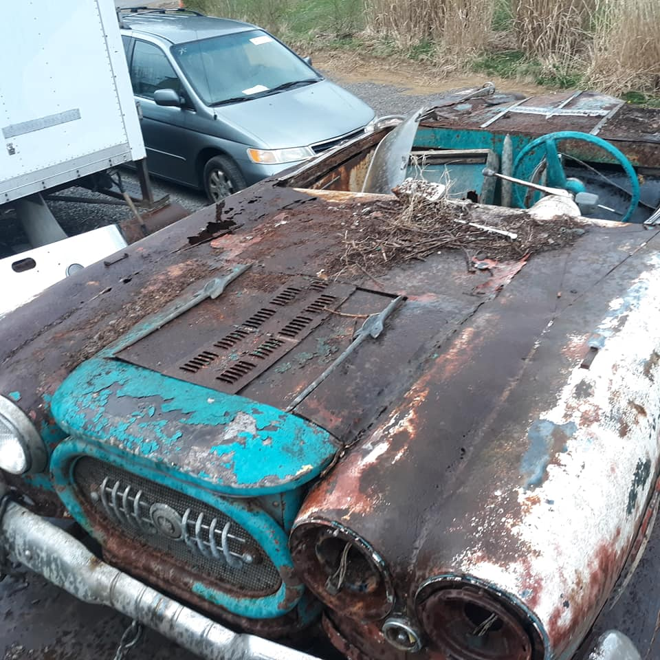 Sauvetage d'un Custom des années 50 - Custom car Survivor rescue 57425210