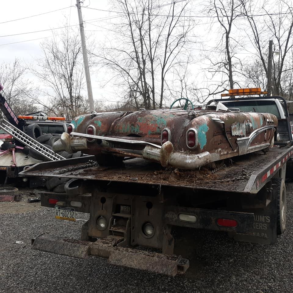 Sauvetage d'un Custom des années 50 - Custom car Survivor rescue 57437610