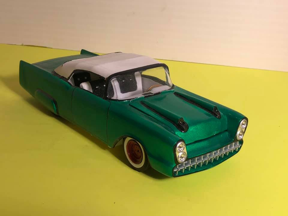 1957  Chevrolet - Customizing kit - trophie series -  amt - 1/25 scale 57490210