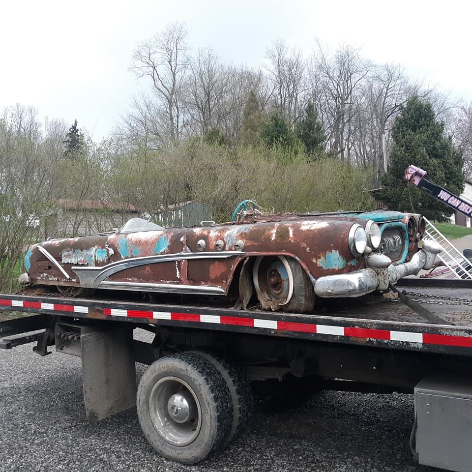Sauvetage d'un Custom des années 50 - Custom car Survivor rescue 57504611