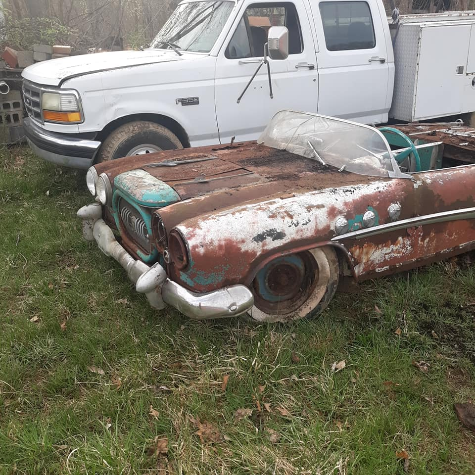 Sauvetage d'un Custom des années 50 - Custom car Survivor rescue 57568510