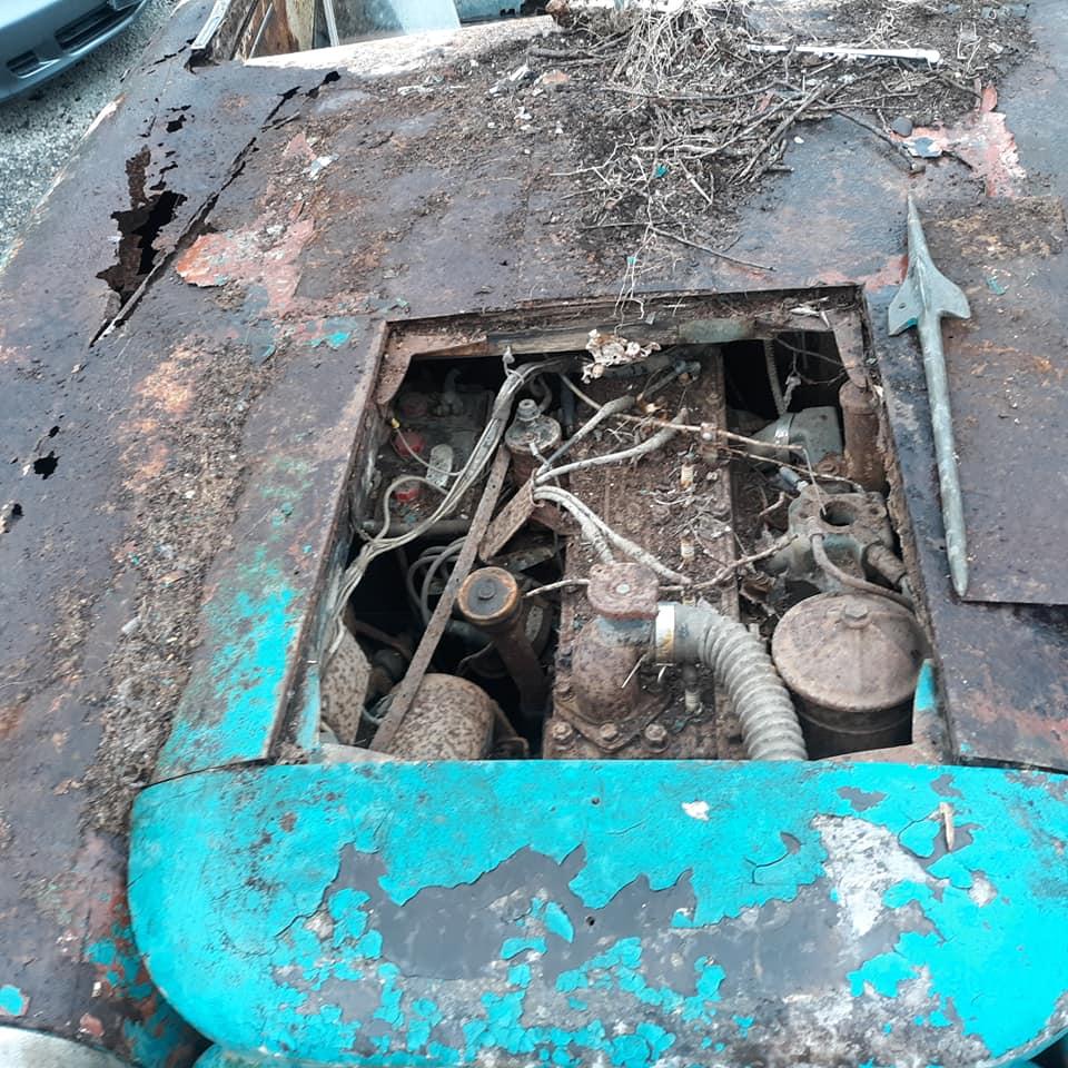 Sauvetage d'un Custom des années 50 - Custom car Survivor rescue 58079710