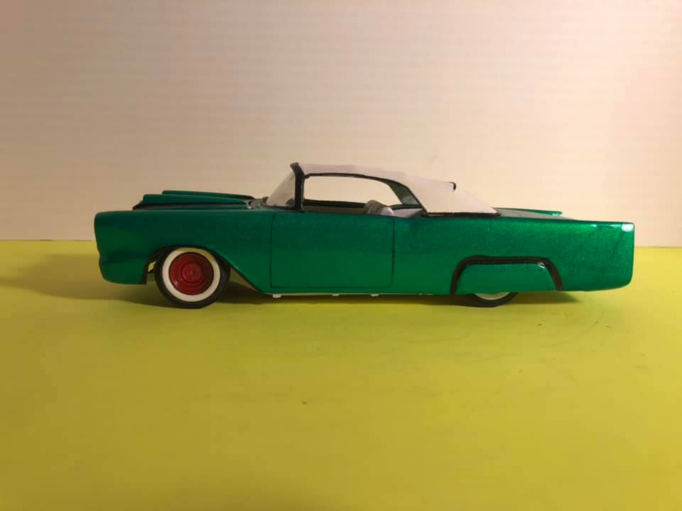 1957  Chevrolet - Customizing kit - trophie series -  amt - 1/25 scale 58377610
