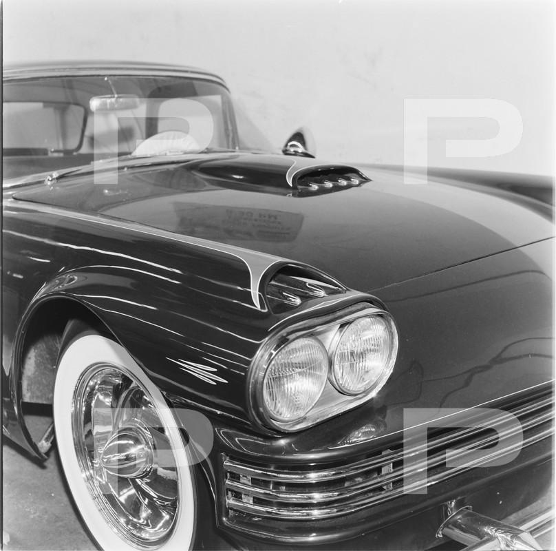 1955 Ford Thunderbird - Candy Bird - Joe Castro -  Joe Bailon 58504910