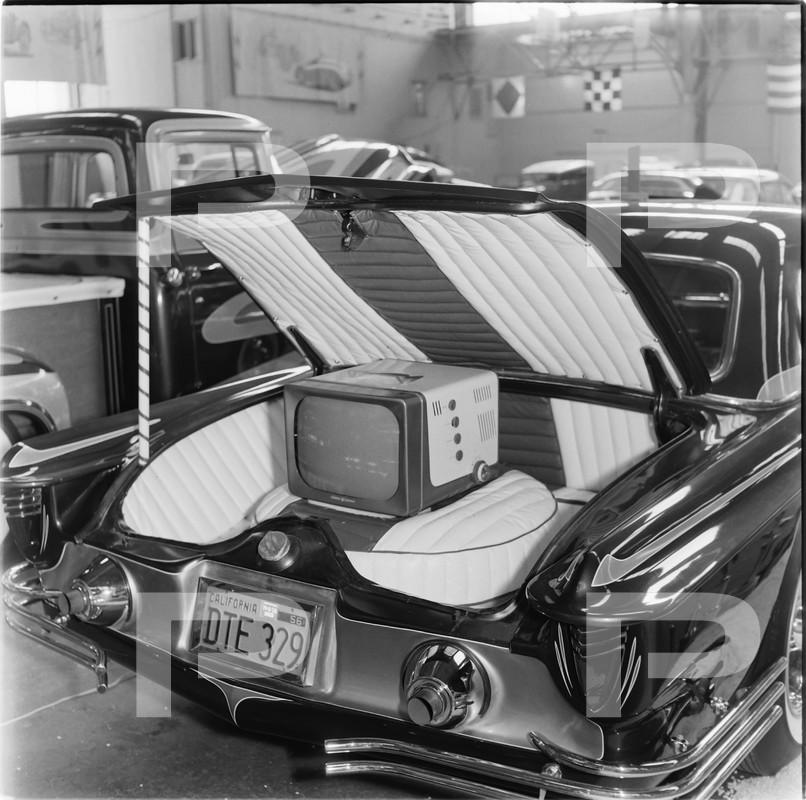 1955 Ford Thunderbird - Candy Bird - Joe Castro -  Joe Bailon 58586010