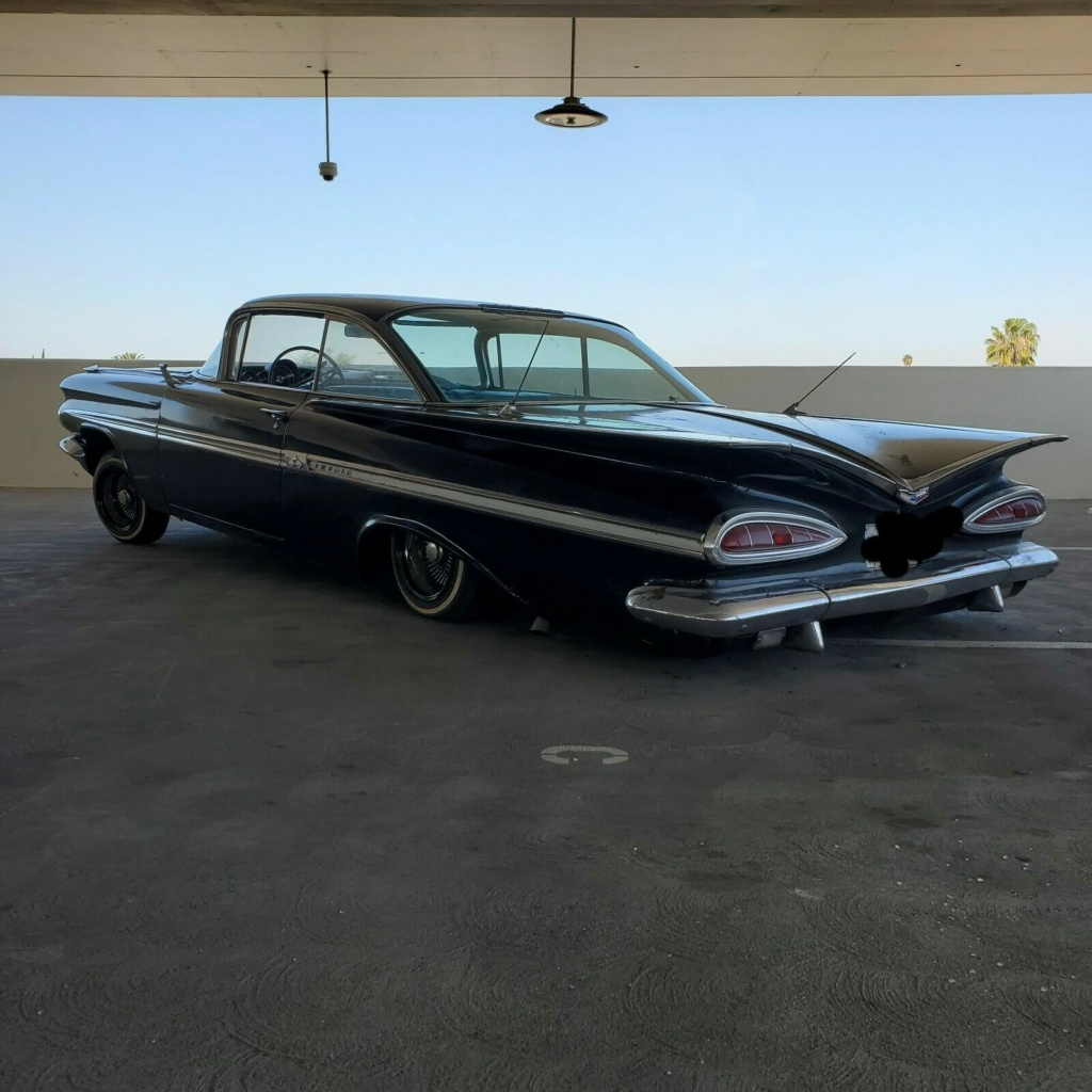 1958 - 1959 Chevrolet Low rider 59chev10