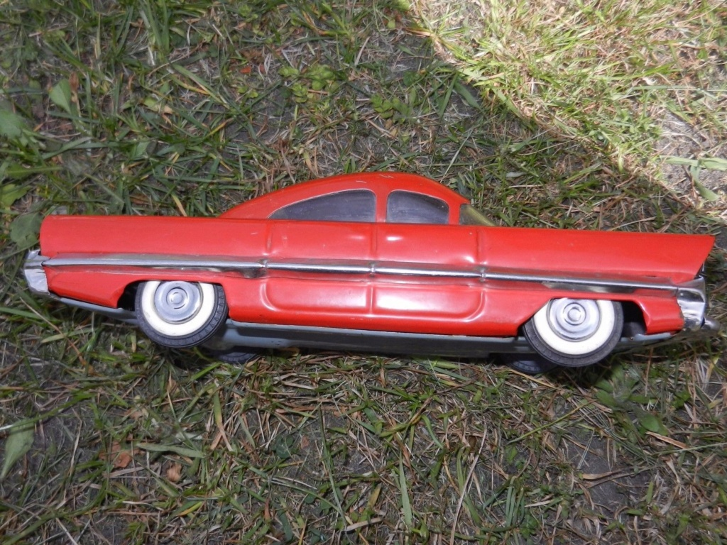 Old Soviet Rusian Vtg USSR TOY - gm motorama concept car style 5g12