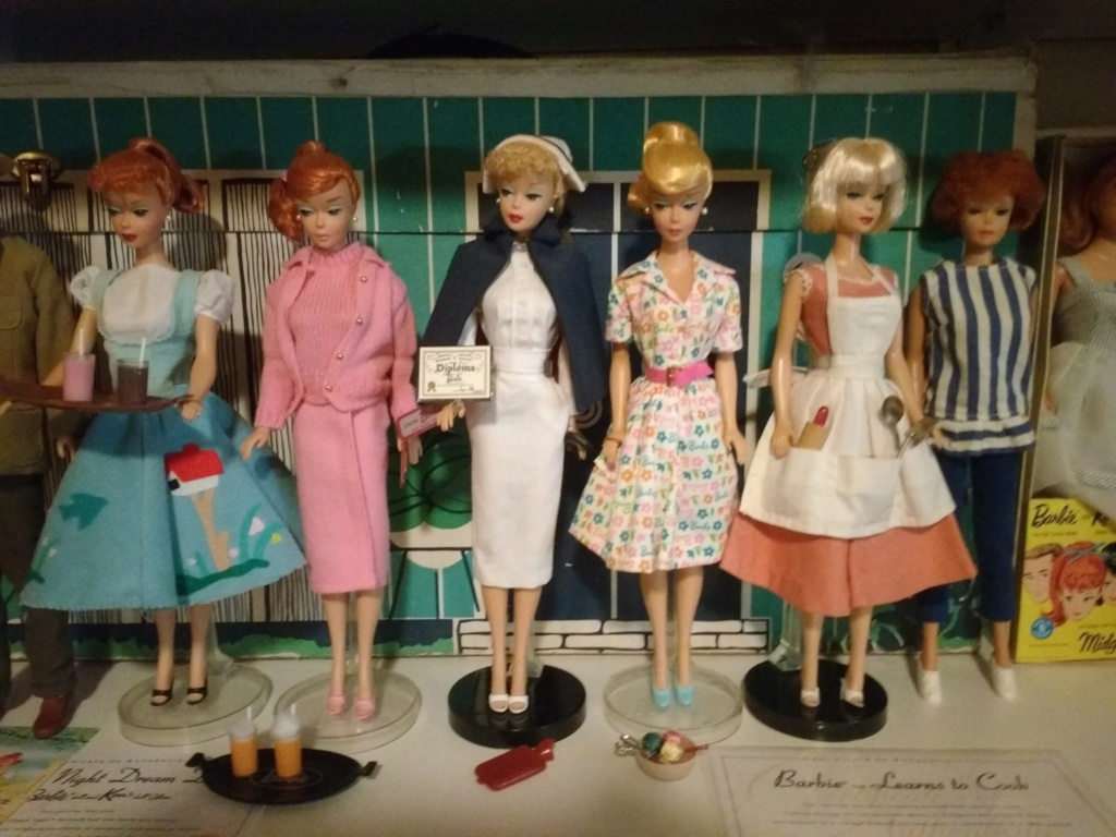 The Original Teenage Fashion Model Barbie Doll - Poupée Barbie des 1950's et 1960's 60062410