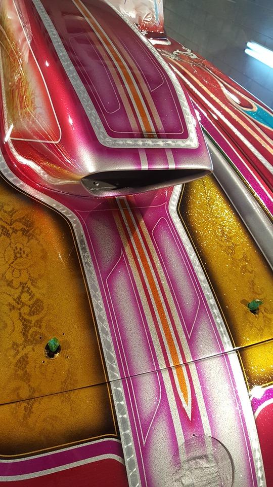 auto's crazy paint - peinture de fou sur carrosseries 60069310