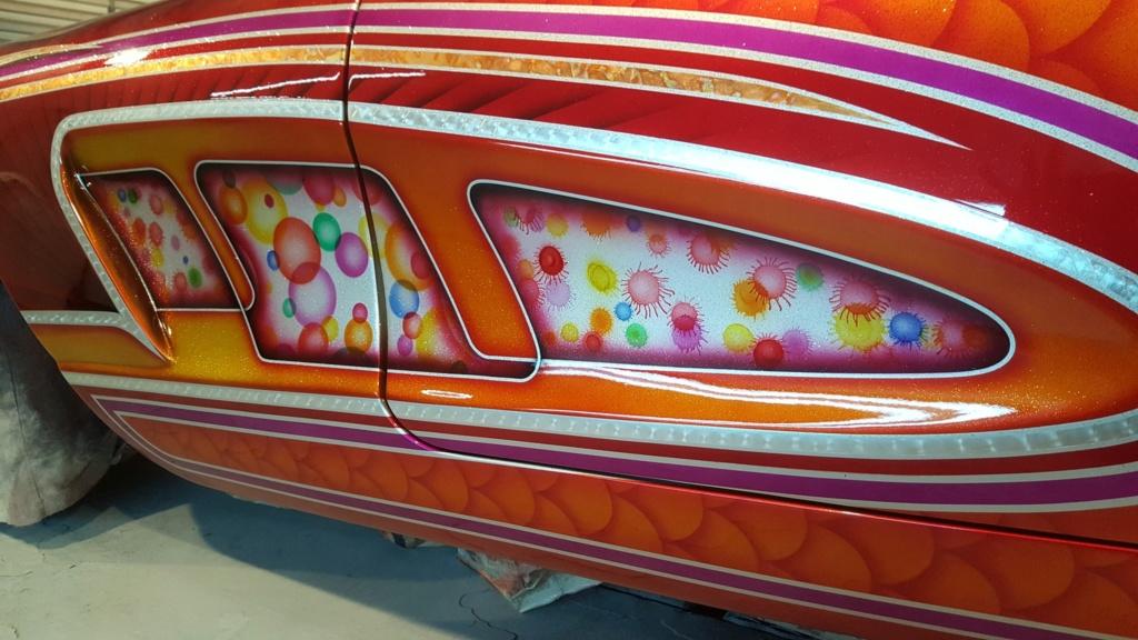 auto's crazy paint - peinture de fou sur carrosseries 60118810