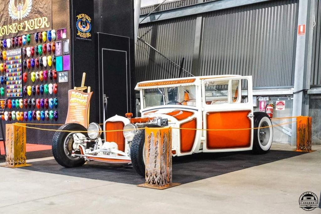 Agent Orange - '27 T coupe - sixties style 60153910