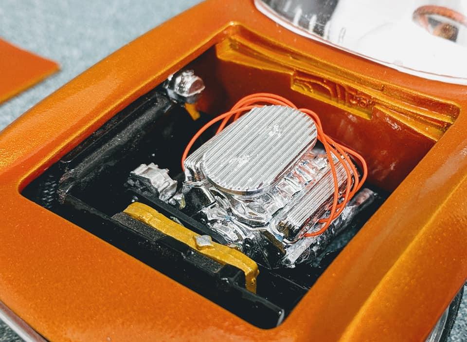 Vintage built automobile model kit survivor - Hot rod et Custom car maquettes montées anciennes - Page 12 60161410