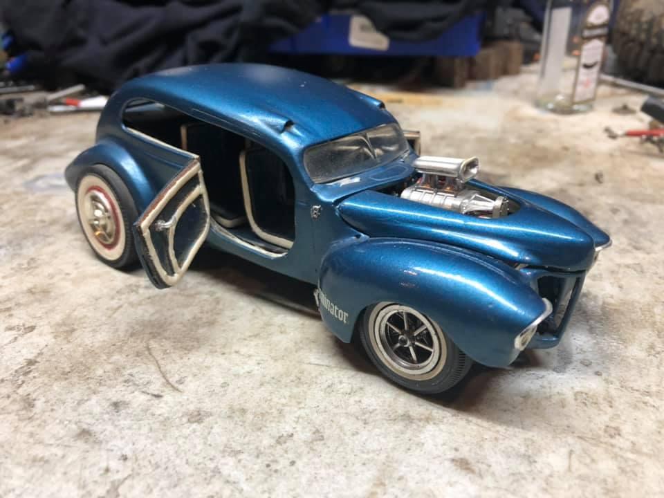 Vintage built automobile model kit survivor - Hot rod et Custom car maquettes montées anciennes - Page 13 60303610