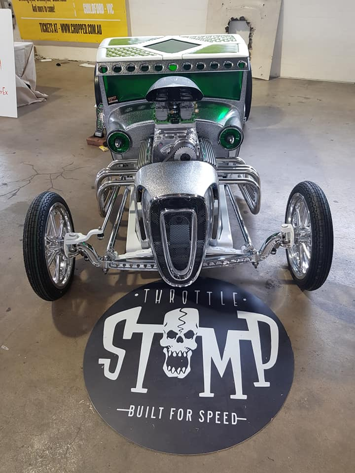 Throttle Stomp - Custom rod early sixties style (Australia) 60507910