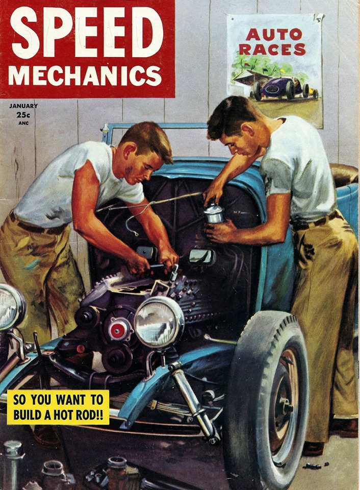 Speed Mechanics Cover 60518010