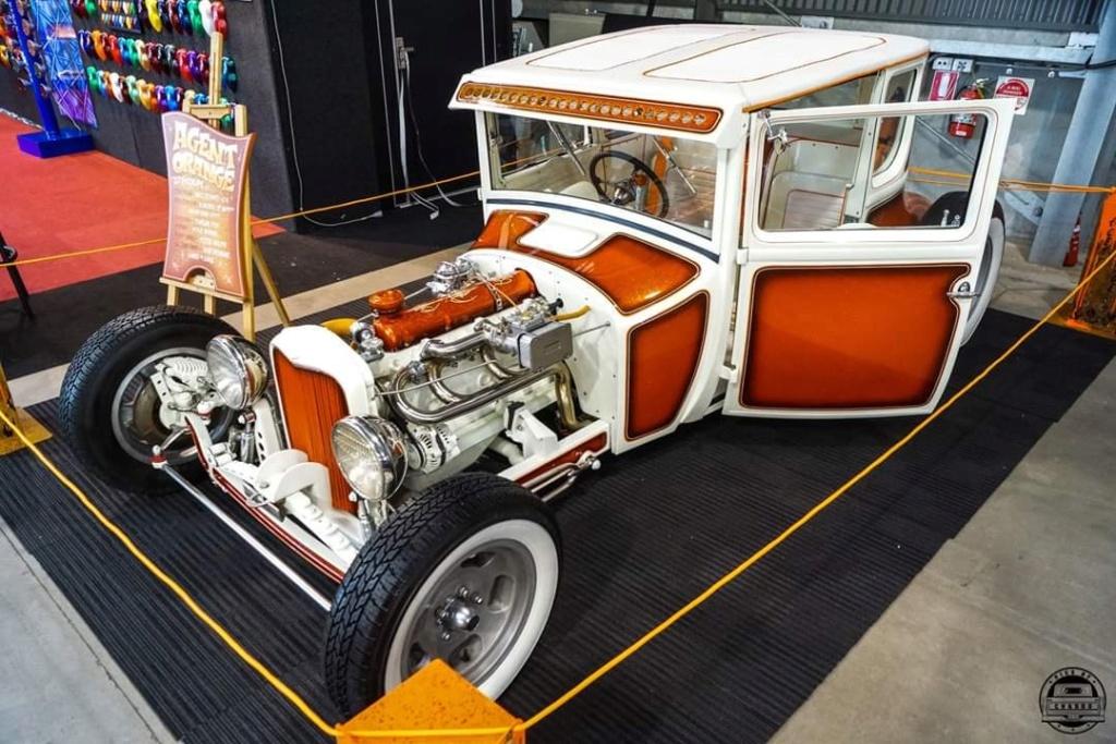 Agent Orange - '27 T coupe - sixties style 60620410