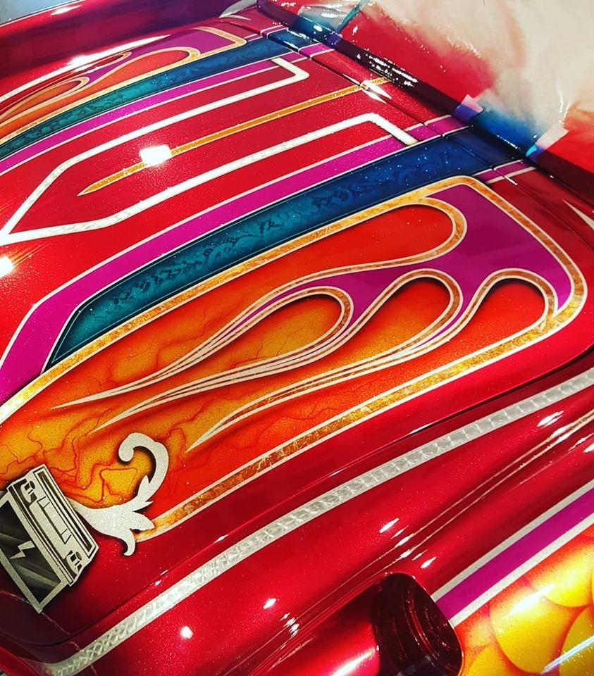 auto's crazy paint - peinture de fou sur carrosseries 60664610