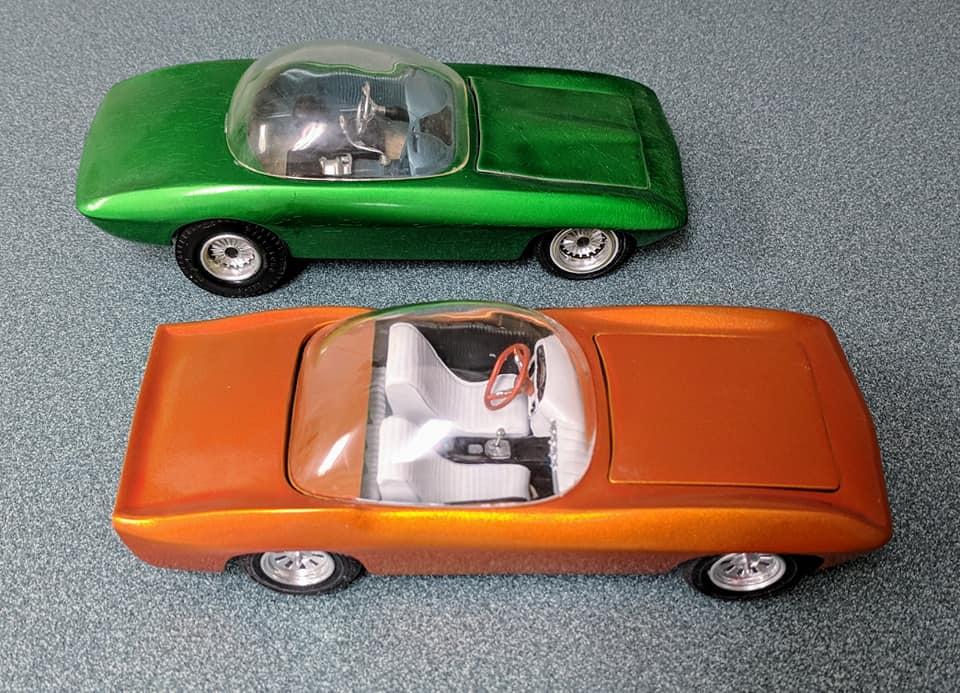 Vintage built automobile model kit survivor - Hot rod et Custom car maquettes montées anciennes - Page 13 60709410