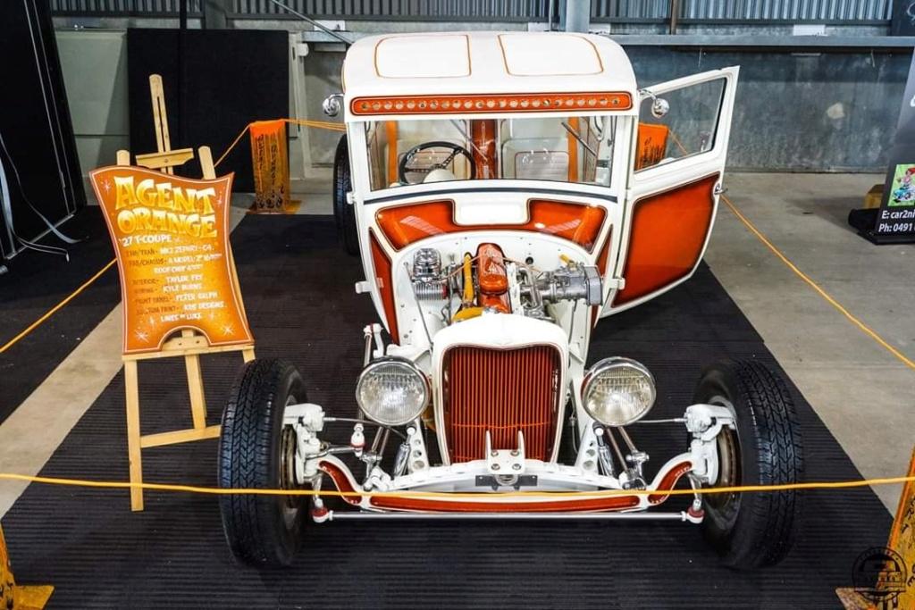 Agent Orange - '27 T coupe - sixties style 60742610
