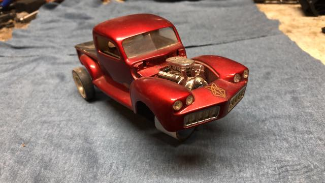 Vintage built automobile model kit survivor - Hot rod et Custom car maquettes montées anciennes - Page 13 60759110