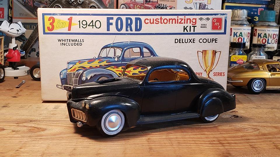 Vintage built automobile model kit survivor - Hot rod et Custom car maquettes montées anciennes - Page 13 60900810