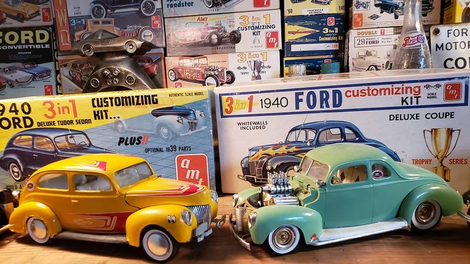 Vintage built automobile model kit survivor - Hot rod et Custom car maquettes montées anciennes - Page 13 60976610
