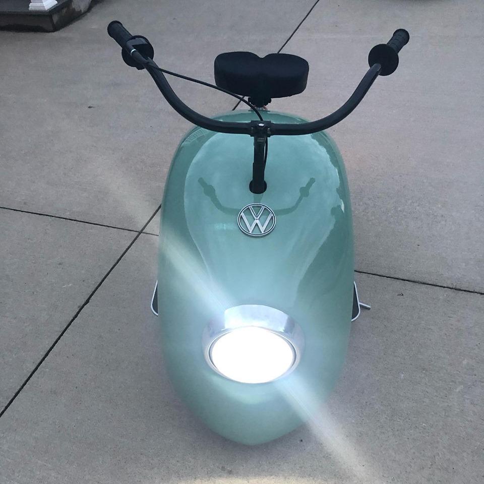 Brent Walter's vw cox mini bike 61126511