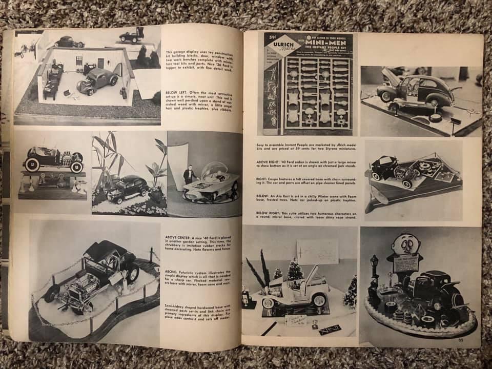 Vintage built automobile model kit survivor - Hot rod et Custom car maquettes montées anciennes - Page 13 61357710