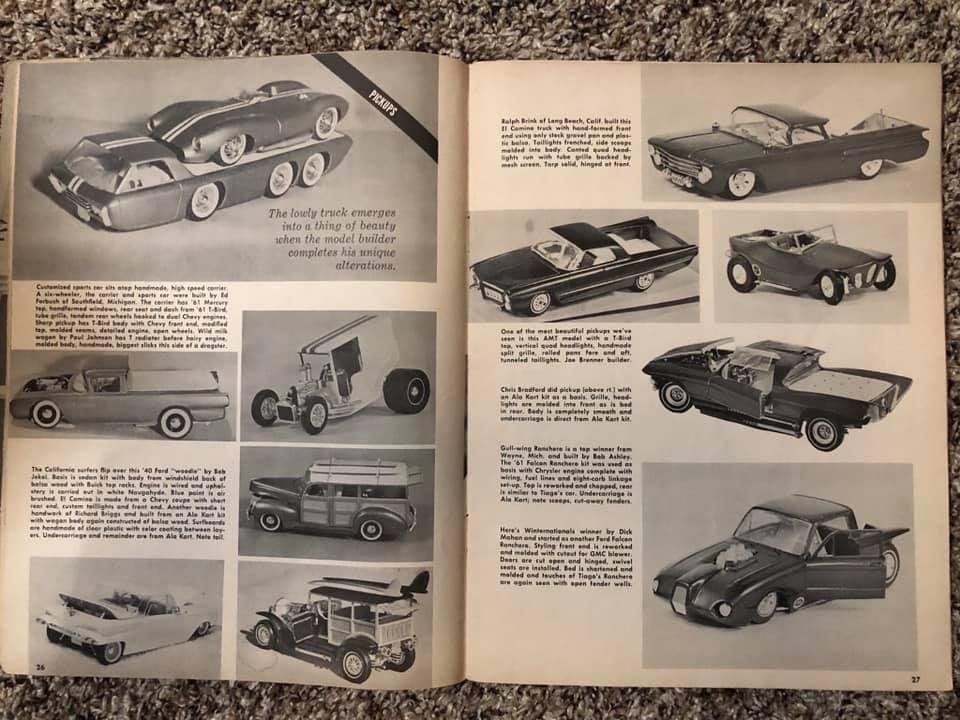 Vintage built automobile model kit survivor - Hot rod et Custom car maquettes montées anciennes - Page 13 61436810