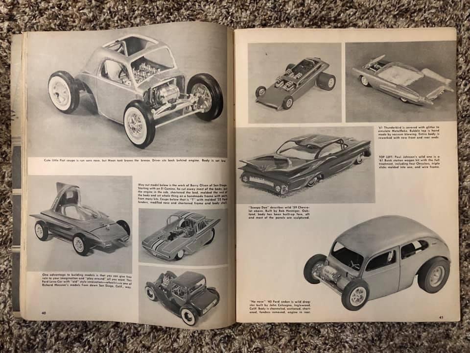 Vintage built automobile model kit survivor - Hot rod et Custom car maquettes montées anciennes - Page 13 61440810
