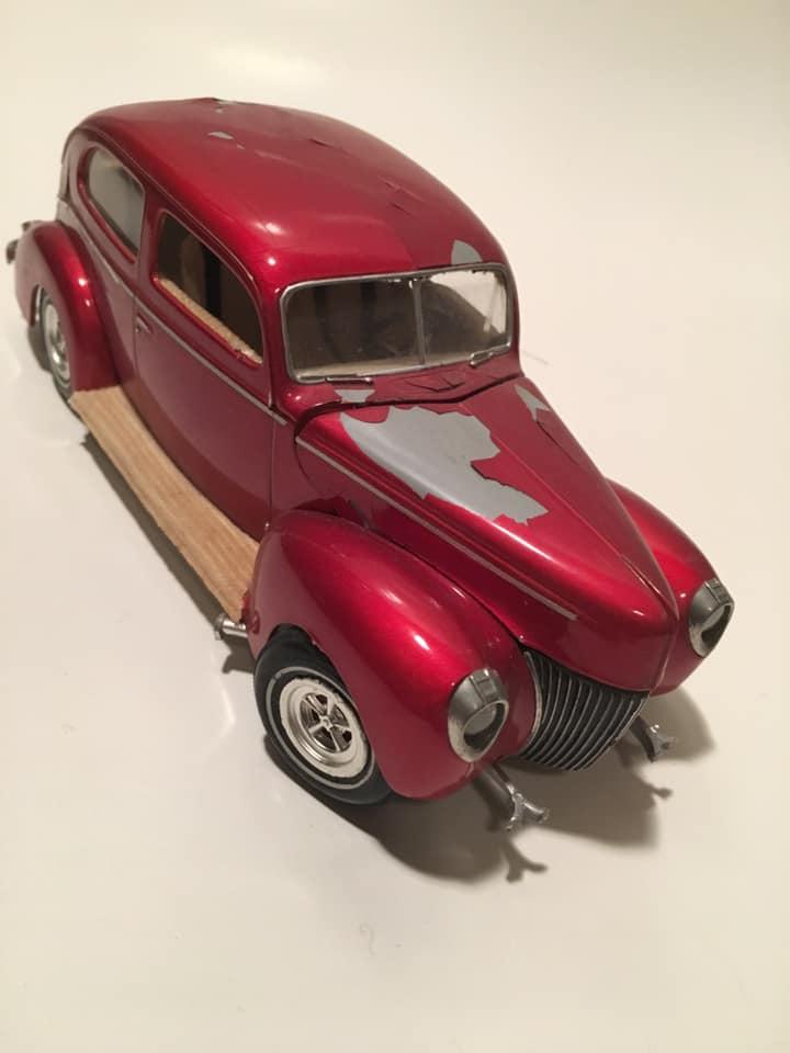 Vintage built automobile model kit survivor - Hot rod et Custom car maquettes montées anciennes - Page 13 61477310