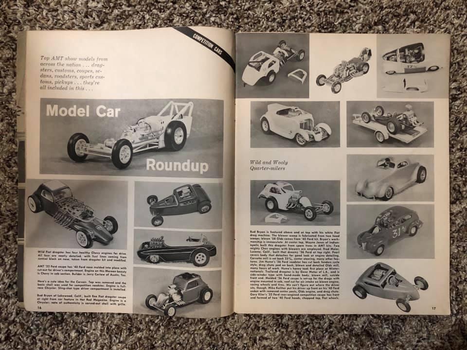 Vintage built automobile model kit survivor - Hot rod et Custom car maquettes montées anciennes - Page 13 61538610
