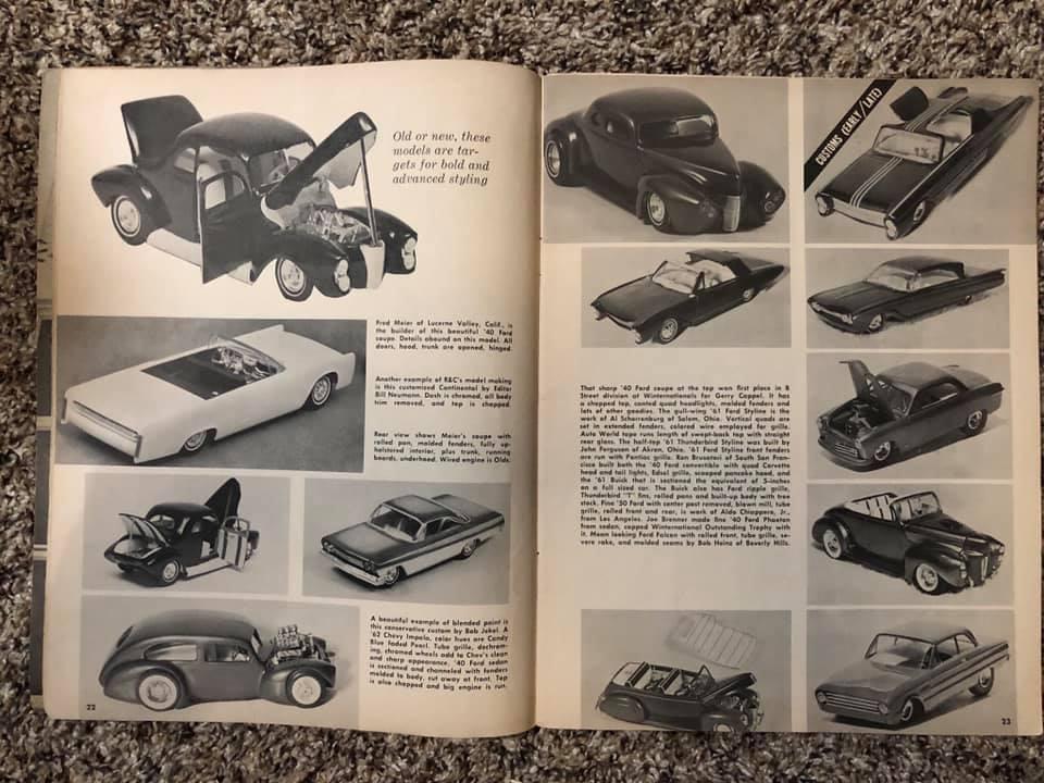 Vintage built automobile model kit survivor - Hot rod et Custom car maquettes montées anciennes - Page 13 61610210