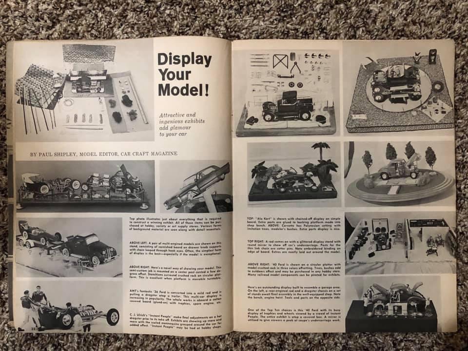 Vintage built automobile model kit survivor - Hot rod et Custom car maquettes montées anciennes - Page 13 61651410