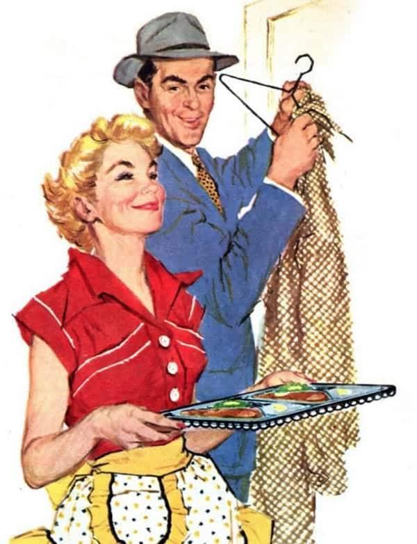 """Mai 1955, Housekeeping Monthly a publié un article intitulé """"Le Guide De La Bonne Épouse"""" 61710"""