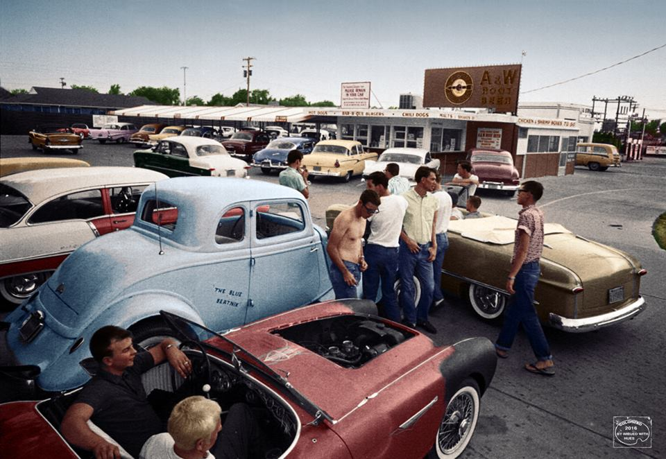 B & W Classic cars and vintage pics colorized by Imbued with hues 61819010