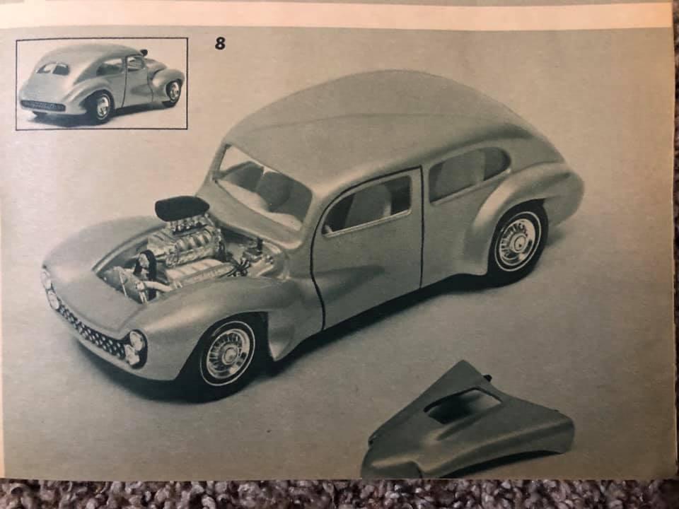 Vintage built automobile model kit survivor - Hot rod et Custom car maquettes montées anciennes - Page 13 61829610
