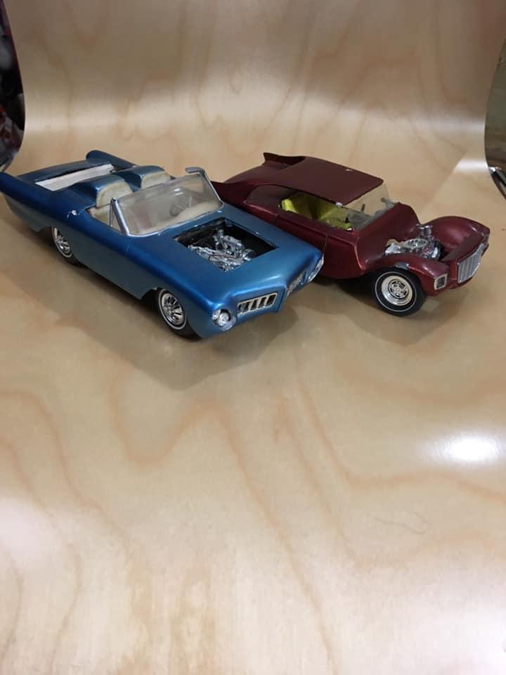 Vintage built automobile model kit survivor - Hot rod et Custom car maquettes montées anciennes - Page 13 61908410
