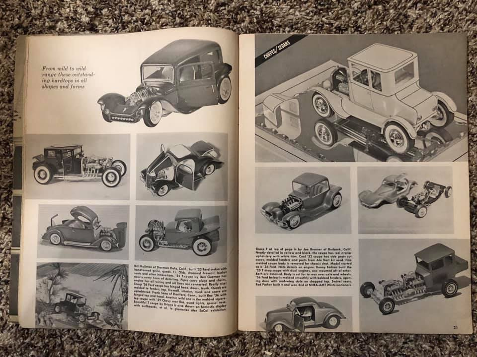 Vintage built automobile model kit survivor - Hot rod et Custom car maquettes montées anciennes - Page 13 61917810