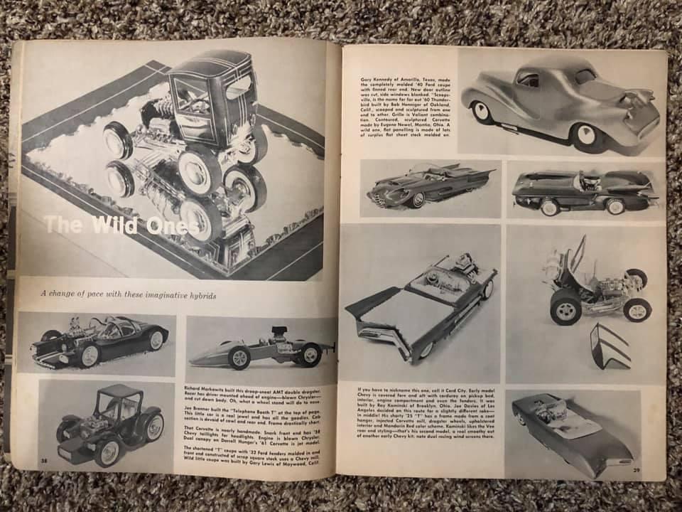 Vintage built automobile model kit survivor - Hot rod et Custom car maquettes montées anciennes - Page 13 61924910