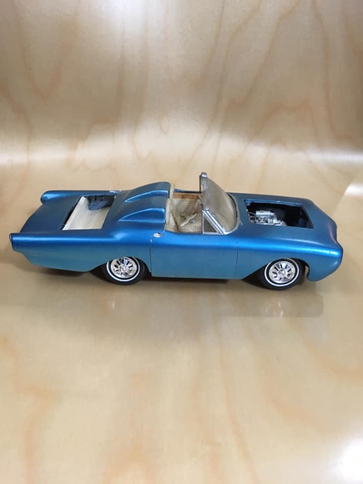 Vintage built automobile model kit survivor - Hot rod et Custom car maquettes montées anciennes - Page 13 61947910