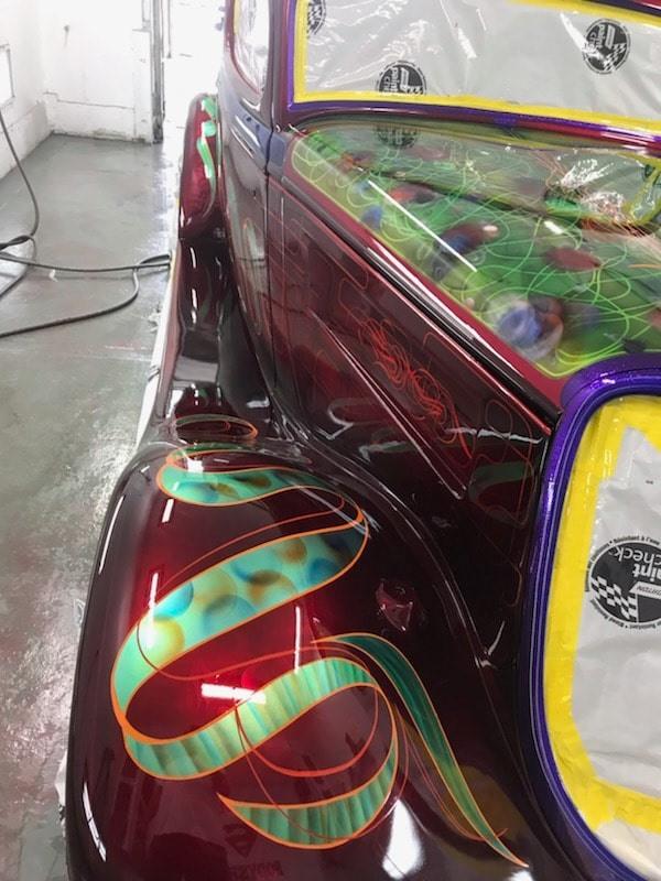 auto's crazy paint - peinture de fou sur carrosseries 62091010