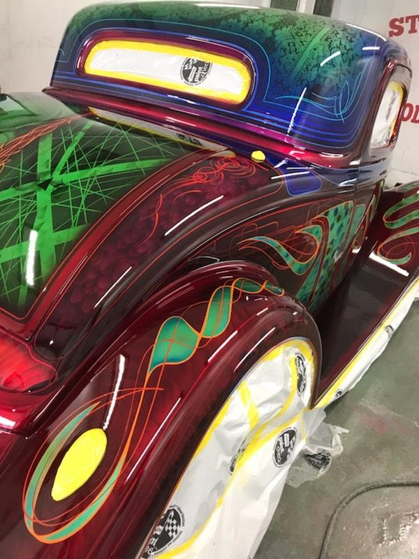 auto's crazy paint - peinture de fou sur carrosseries 62192410